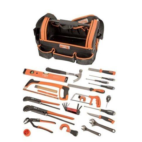Bahco 3100TBTS4 |<br>Plumbers Bag With Plumbing Tools