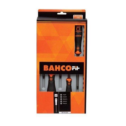 Bahco B219.025 |<br>T10 - T30 BahcoFit TORX Screwdriver Set 5 Pc