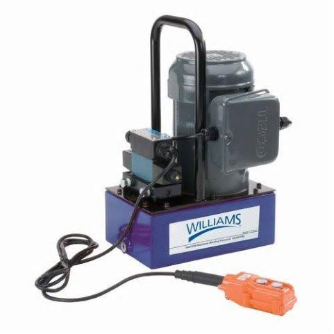 Williams 5ES15H3GR |<br>1.5Hp Electric Pump with Solenoid Valve - 3 Gallon 4W-3P