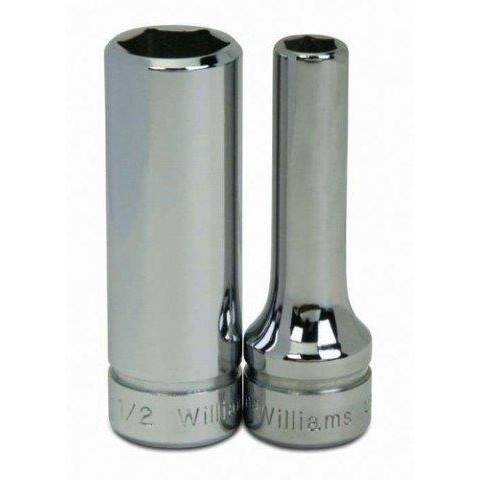 7//8-Inch Williams 31428 3//8-Inch Drive Deep Socket 12 Point