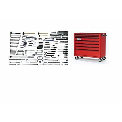 Williams MSC-225TB |<br>225 Pc Metric Maintenance Service Set With Tool Cabinet MSC-225TB
