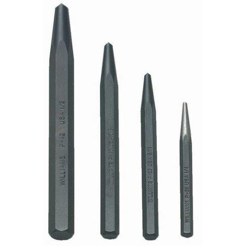 Williams PS-4 |<br>Center Punch Set 4 Pc