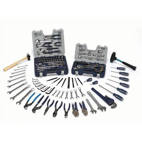 Williams WSC-130 |<br>129 Pc Maintenance Tool Set SAE Tools Only WSC-130