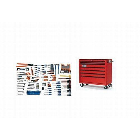 Williams WSC-167TB |<br>167 Pc Electrical Maintenance Tool Set SAE Tools with Storage