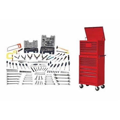 Williams WSC-231TB |<br>220 Pc Maintenance Tool Set SAE Tools With Storage