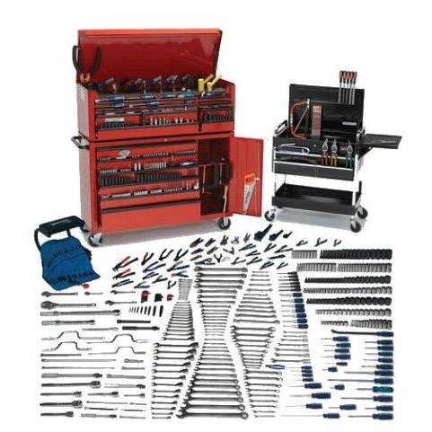 Williams WSC-680TB |<br>680 Pc Maxxum Tool Set Complete with Tool Boxes