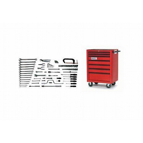 Williams WSC-88TB |<br>88 Pc General Industrial Repair SAE Tool Set With Storage WSC-88TB