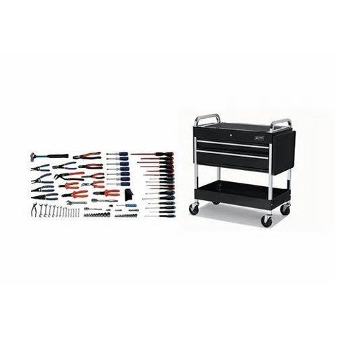Williams WSC-95TB |<br>95 Pc Basic Electrical Repair Tool Set SAE Tools With Storage