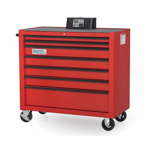 Williams WTC26RC7 |<br>Keyless Entry Roll Cabinet Professional Series 26